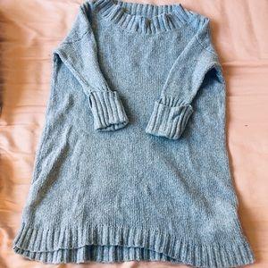 Free people soft long  sweater